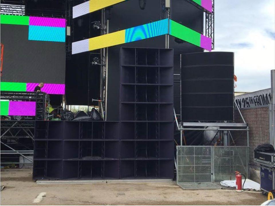 sonido en directo