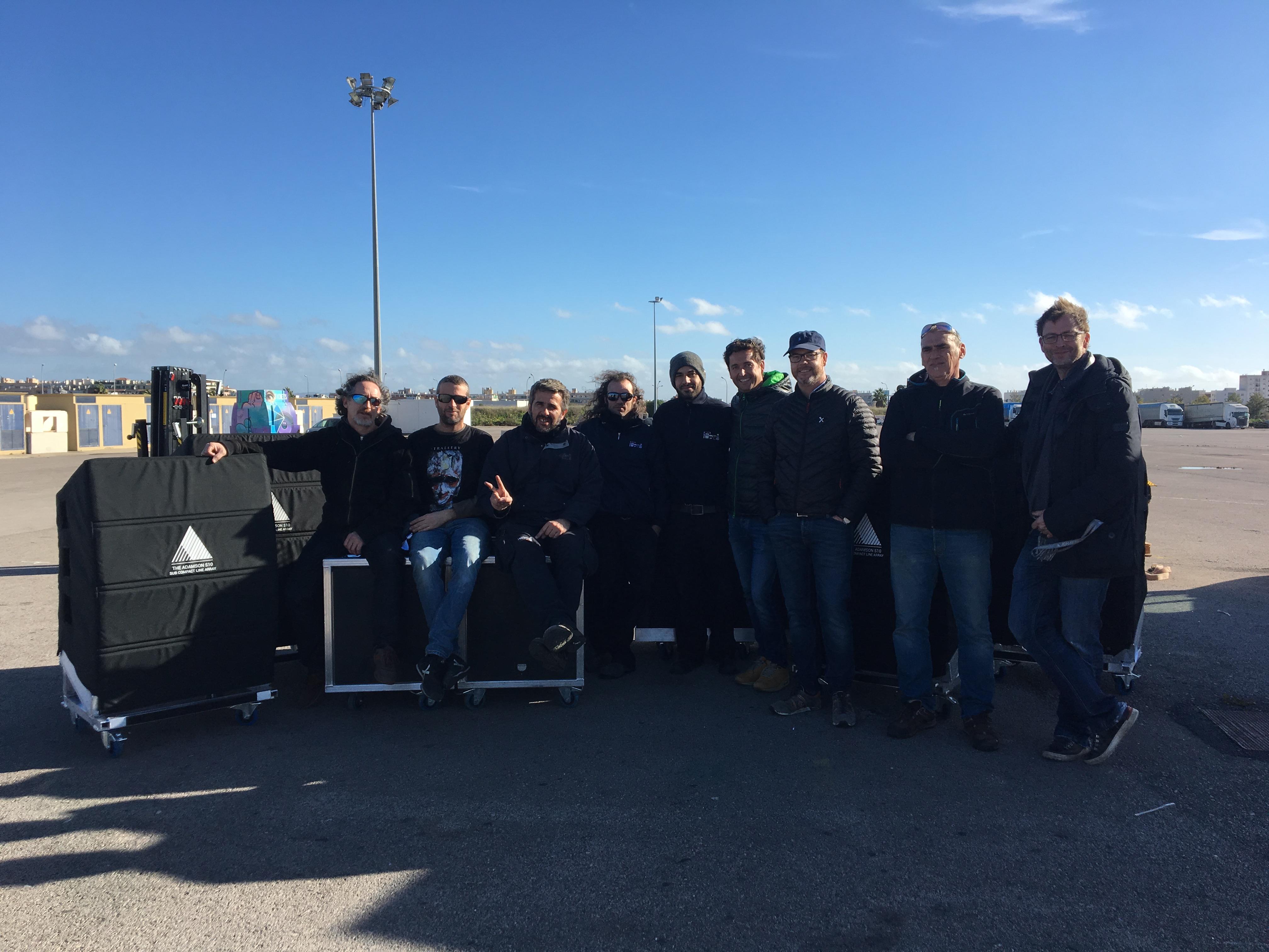 equipo Seesound alquiler de equipos profesionales