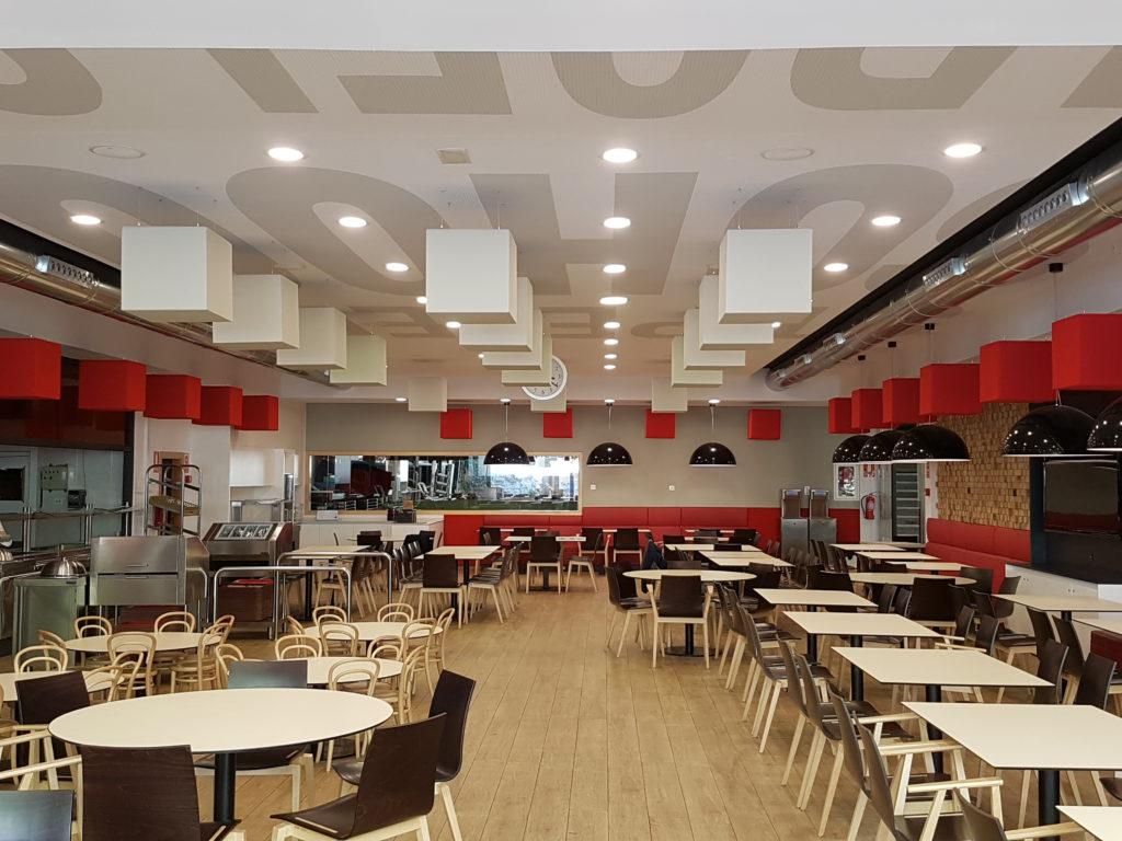 Gran mejora ac stica en comedor escolar seesound - Comedores escolares barcelona ...