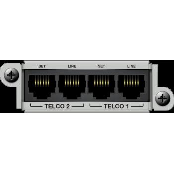 Matriz de audio digital 2 Line Analog Telephone Interface Card