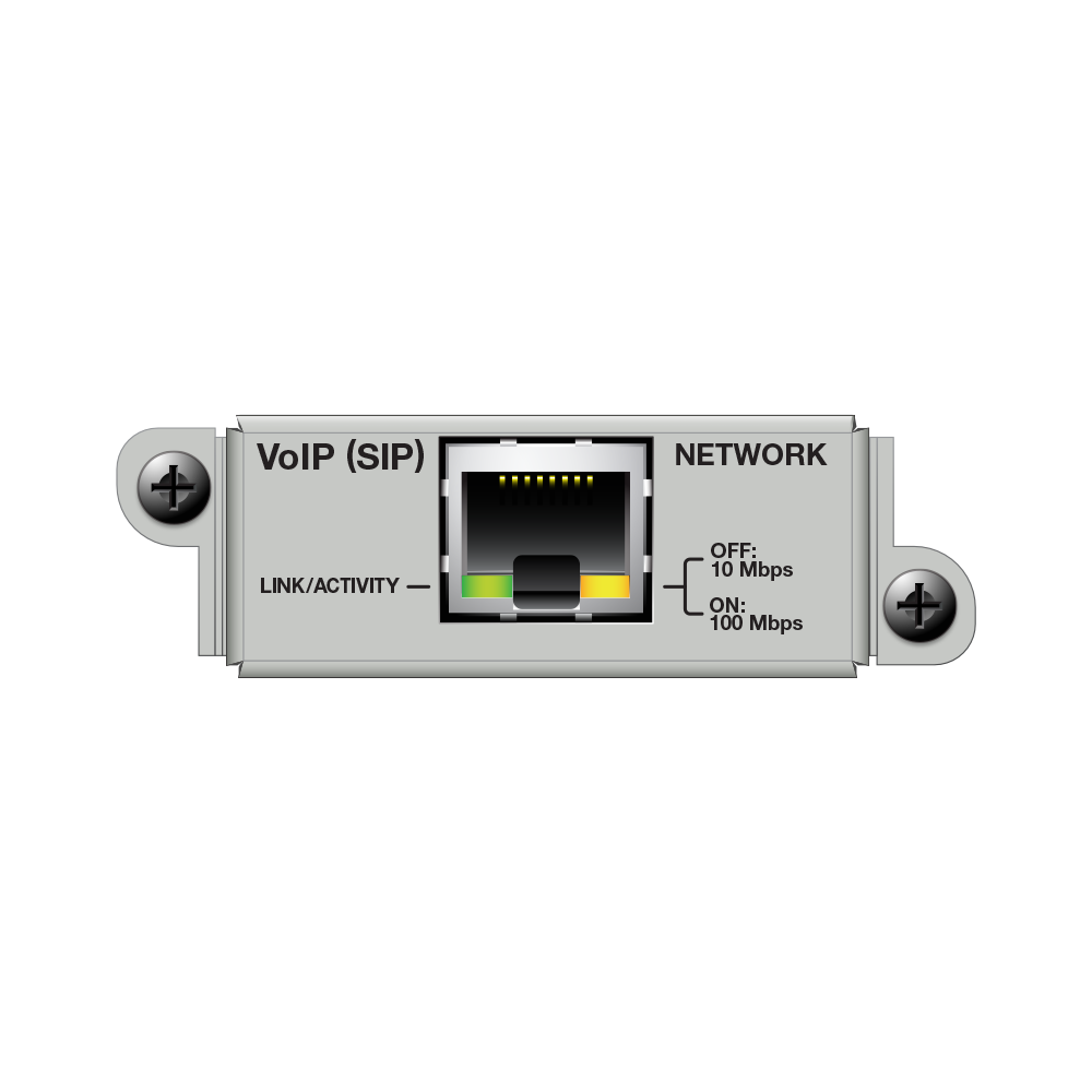 Matriz de audio digital 2 Line VoIP Interface Card