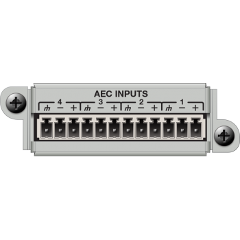 Matriz de audio digital 4 Channel AEC Input Card