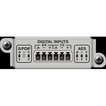 Matriz de audio digital 4 Channel Digital Input Card