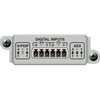 Matriz de audio digital 4 Channel Digital Input Card