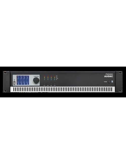 Baja Impedancia Línea 100V DSP PMQ600