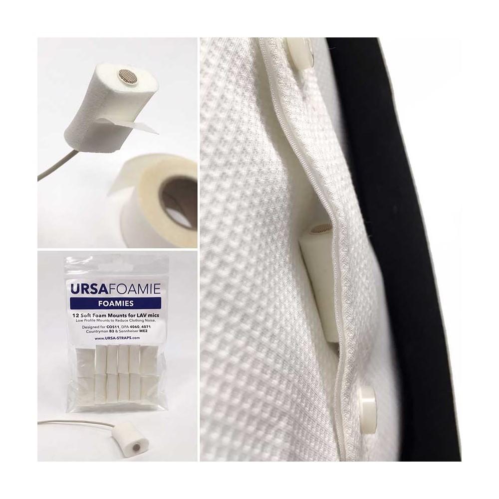 accesorios microfono lavalier microfono U-F-WHT Foamies WHITE (Pack of 12)