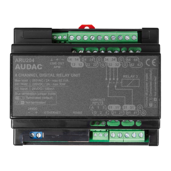 Matriz de audio digital ARU204