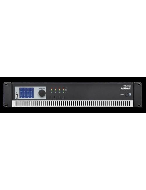 Baja Impedancia Línea 100V DSP PMQ240