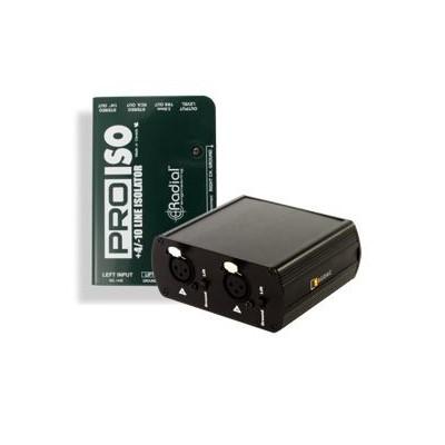 Aisladores y Adaptadores de señal de Audio