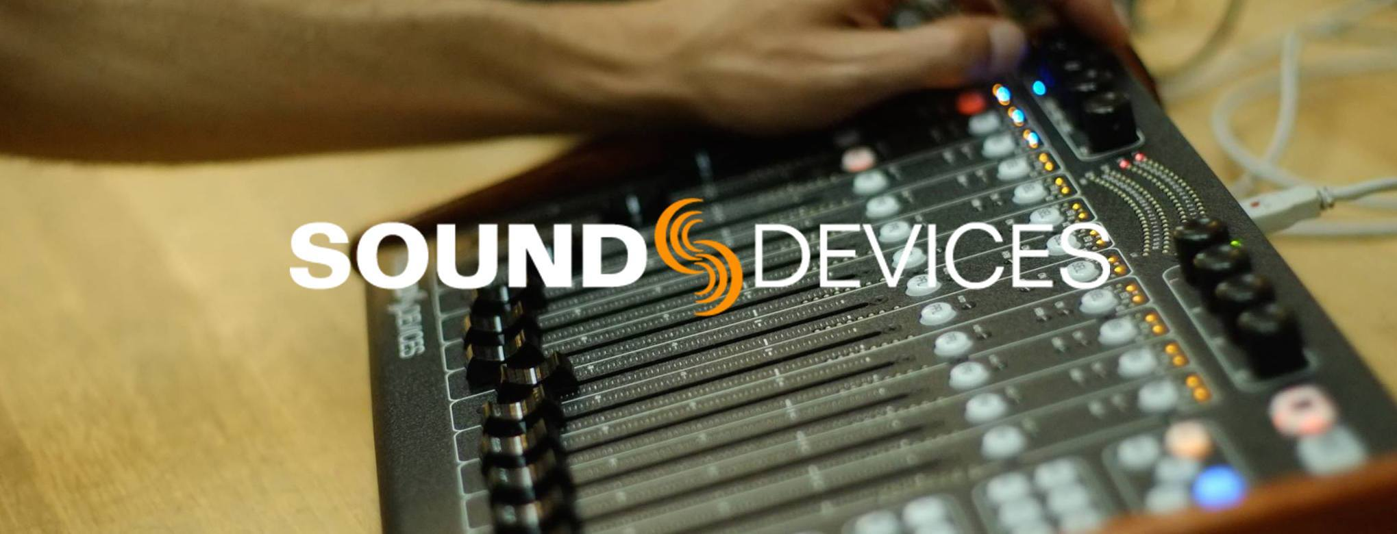 equipos sonido sound devices