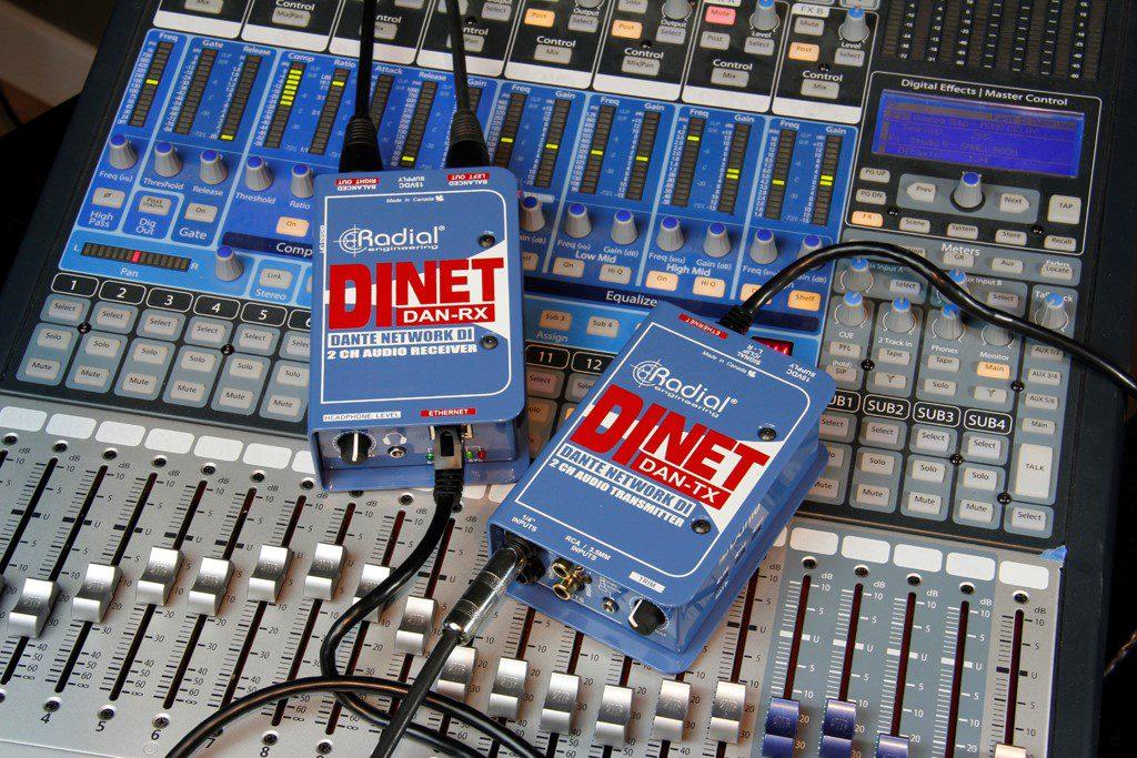 Cajas DiNET de Radial